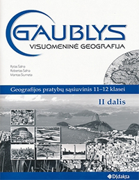 11 klasė, Geografija, Gaublys - 2 dalis