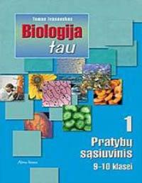 9 klasė, Biologija tau 9 klasė pratybų atsakymai