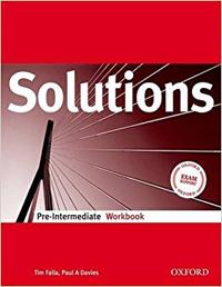 7-8 klasė SOLUTIONS pratybos Anglų kalba pratybų atsakymai