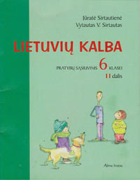6 klase, Lietuvių kalba - 2 dalis 6 klasė pratybų atsakymai