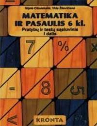 6 klasė, Matematika ir pasaulis - 1 dalis 6 klasė pratybų atsakymai