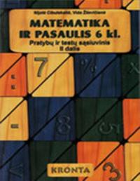 Matematika ir pasaulis 2 dalis 6 klasė pratybų atsakymai