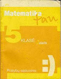 Matematika Tau 5 klasė - 2 dalis pratybų atsakymai