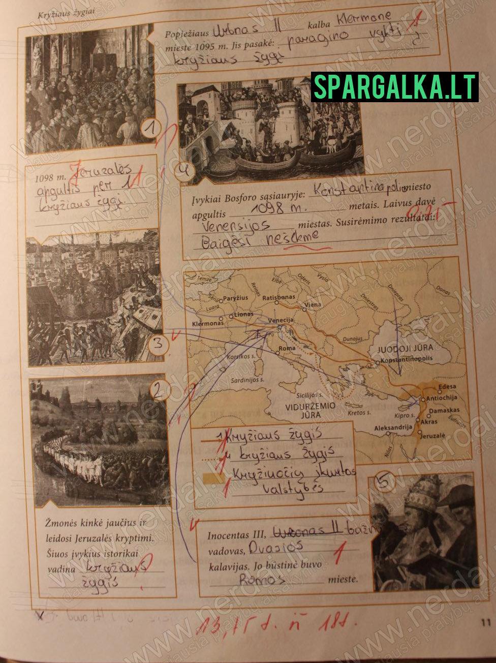 Istorija, pratybos ŠOK - 1 dalis