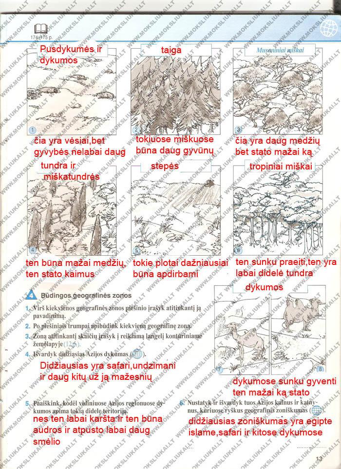 Geografija, Žemė - 2 dalis