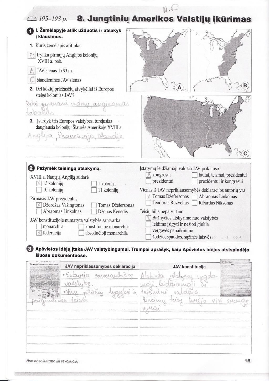 11 klasė, Istorija, Laikas - 1 dalis
