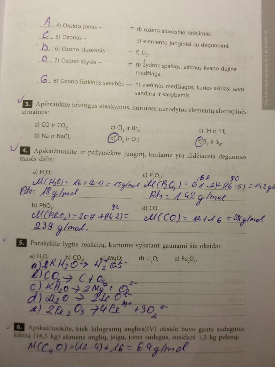 Chemijos pratybos (Nemetalų chemija)