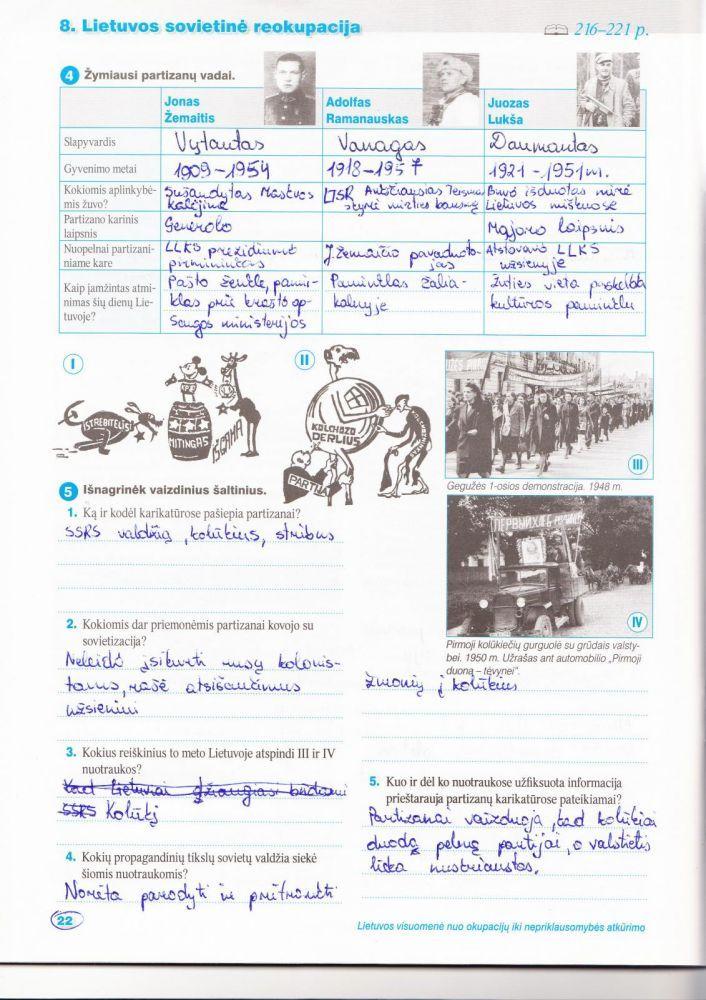 12 klasė, Istorija, Laikas - 2 dalis