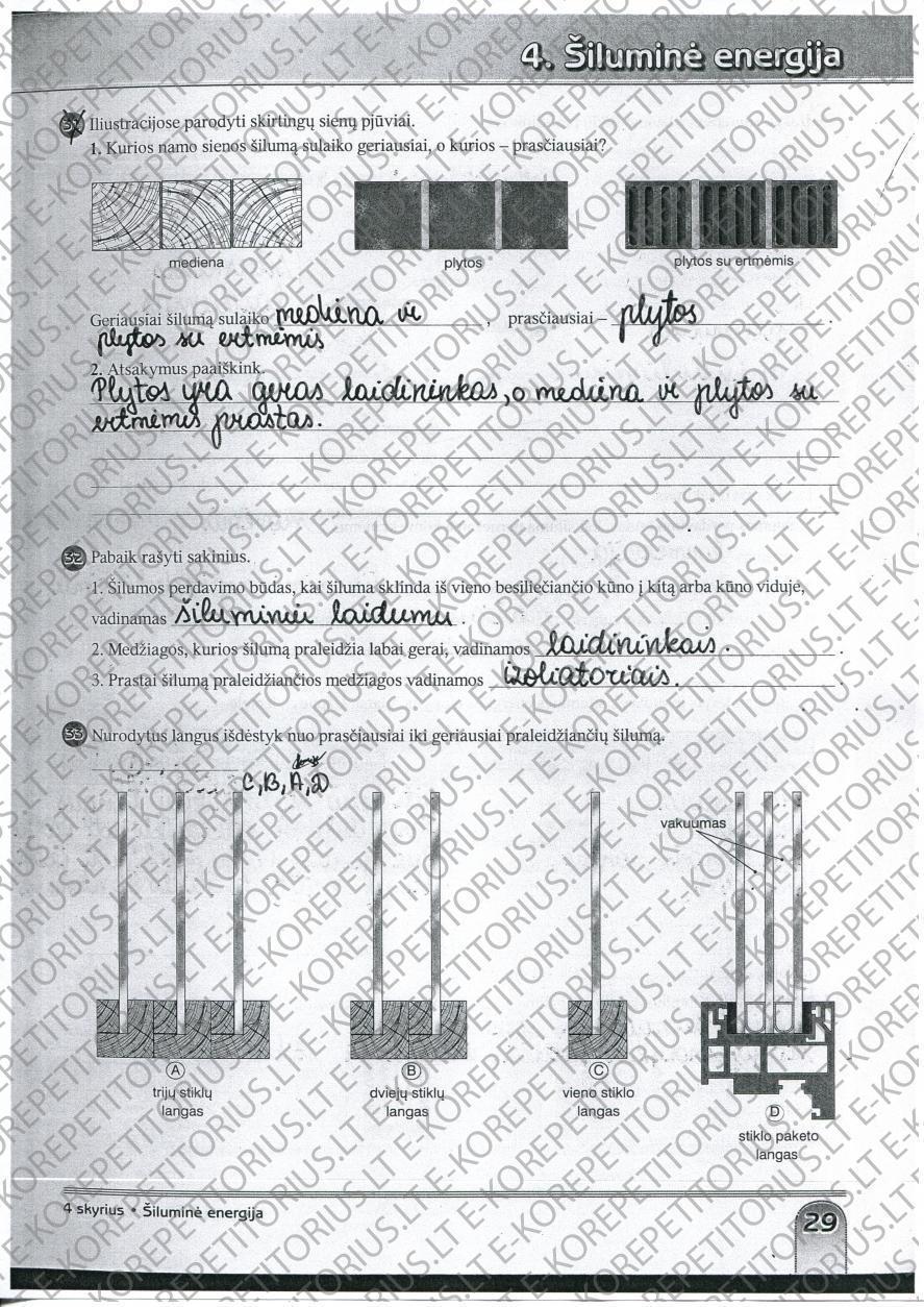 7 klasė, Fizika, Spektras 7