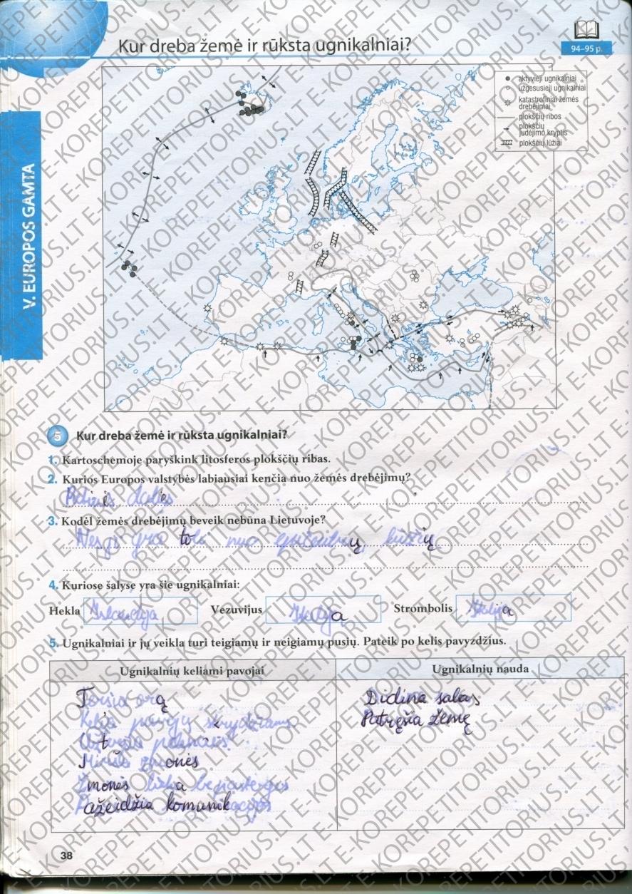 Geografija, Žemė - 1 dalis ŠOK