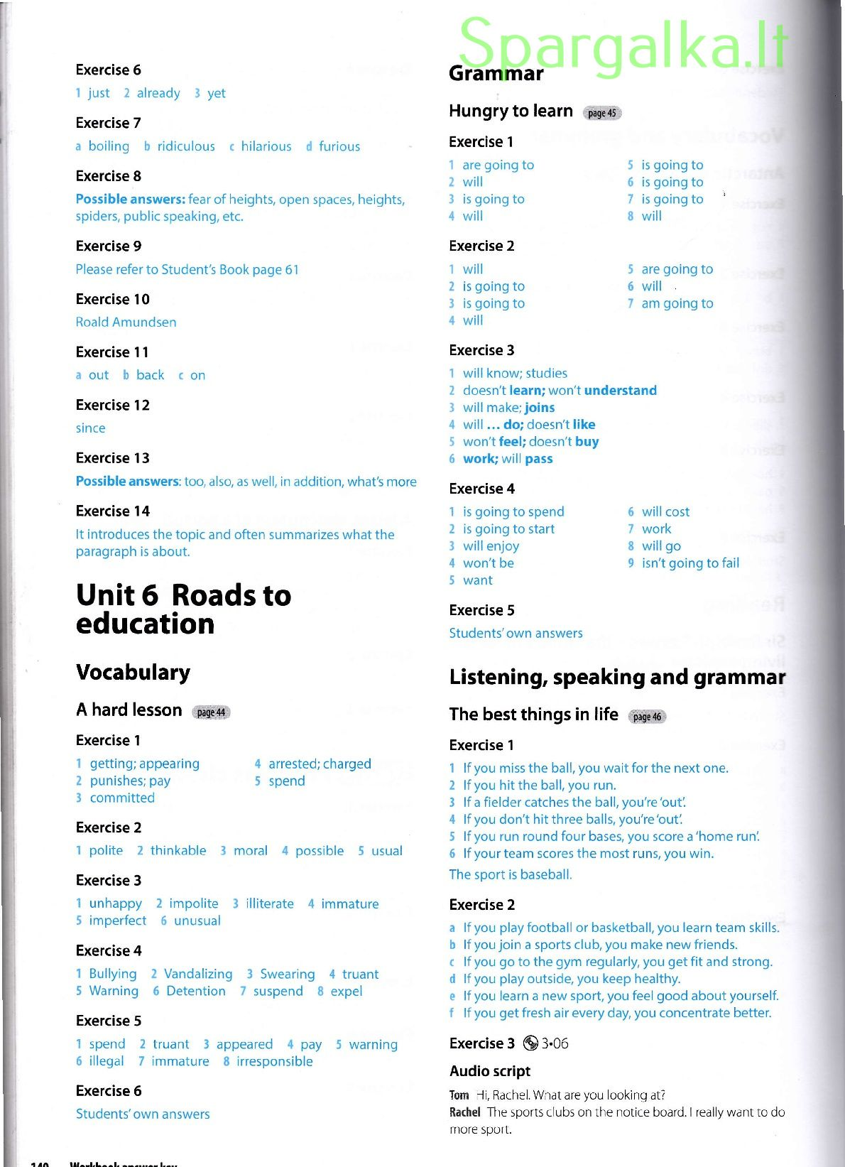 Insight Pre-Intermediate workbook