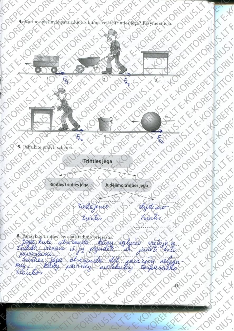 Fizika, Fizikos pratybos - 1 dalis