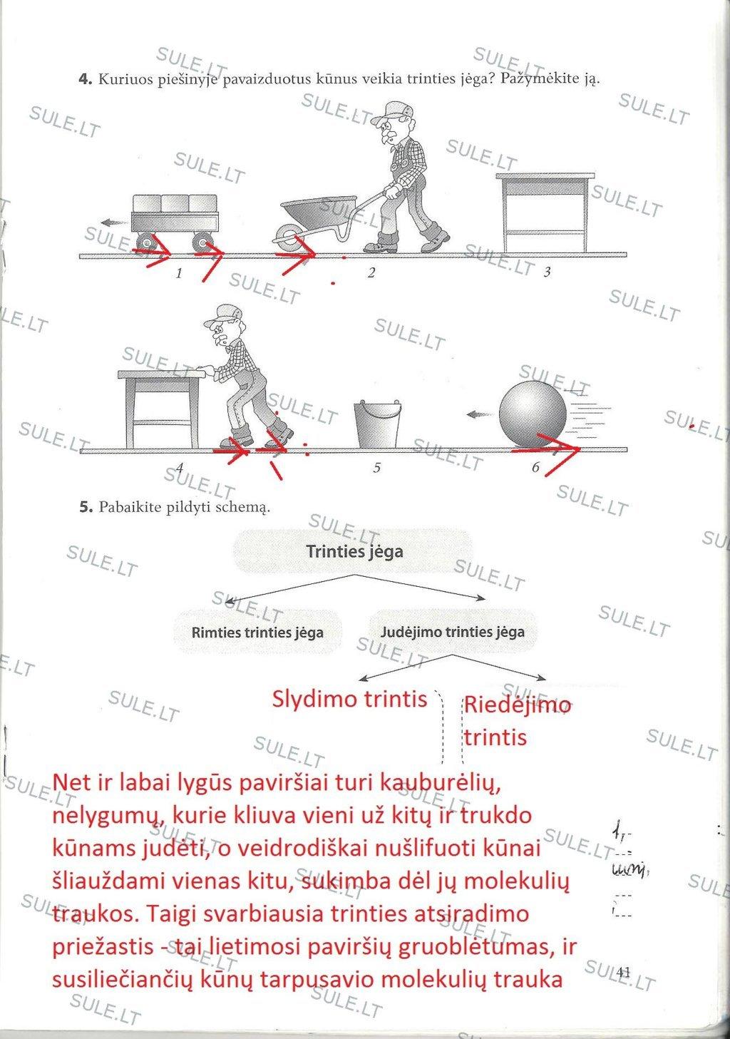 Fizika, Fizikos pratybos - 2 dalis
