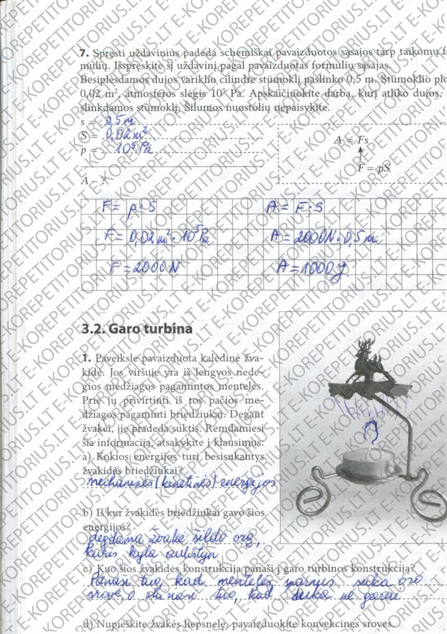9 klasė, Fizikos pratybos 1 dalis
