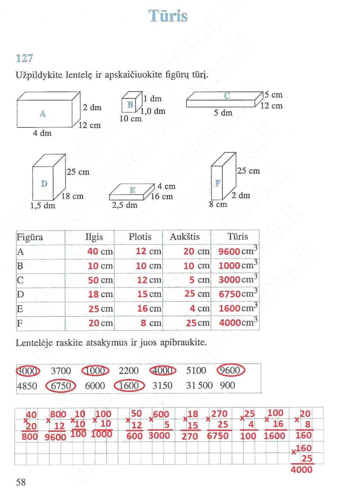 5 klasė Matematika ir pasaulis - 2 dalis