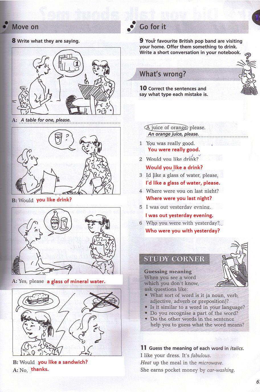 5 - 6 klasė NEW SNAPSHOT pratybos
