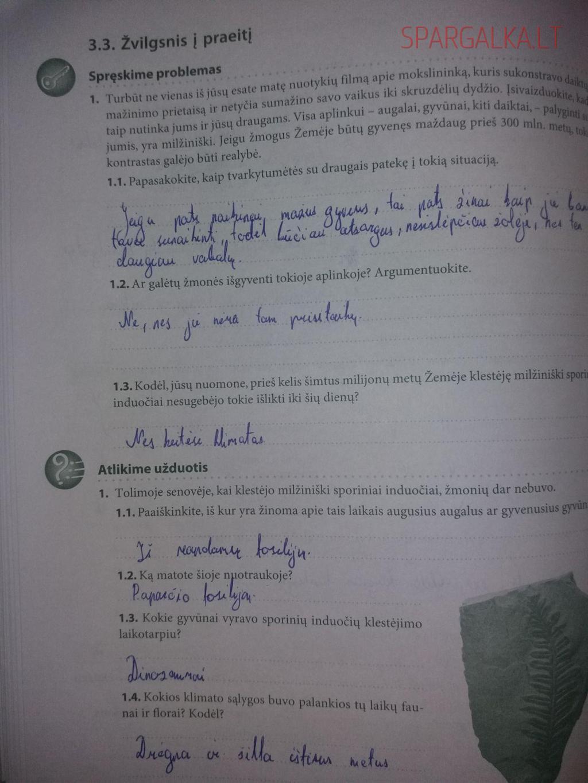 7 klasė, Biologijos užduotys 40 iki 80 psl.
