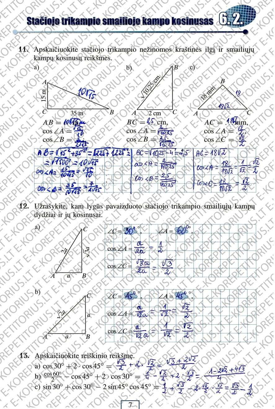 Matematika tau 2 dalis