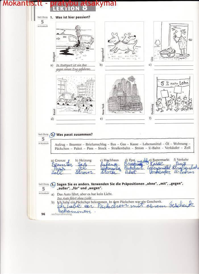 Vokiečių pratybos - Themen 2 aktuell