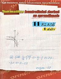 Matematikos Kontroliniai su sprendimais 1 dalis 11 klasė pratybų atsakymai