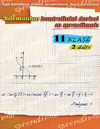 Matematikos Kontroliniai su sprendimais 2 dalis 11 klasė pratybų atsakymai