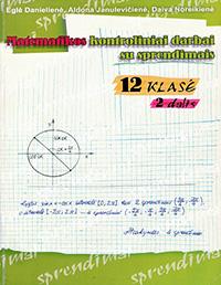 Matematikos Kontroliniai 2 dalis 12 klasė pratybų atsakymai