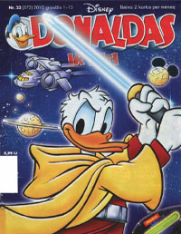 Donaldas ir kiti (Komiksai) Knygos pratybų atsakymai