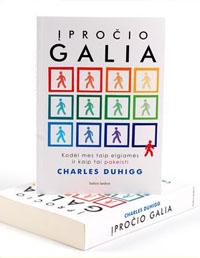Charles Duhigg - Įpročio galia Knygos pratybų atsakymai